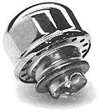 Chrome Oil Breather Cap