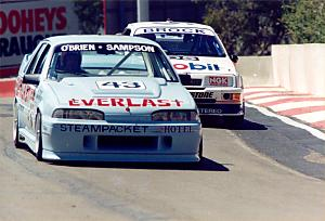 Bathurst 1989, in a Walkinshaw Commodore