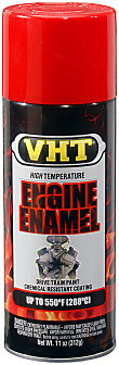 VHT Engine Enamel—SP121 Bright Red