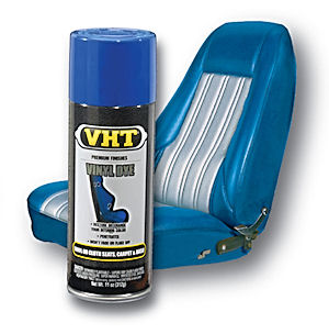 VHT Vinyl and Carpet Dye for the upholstery